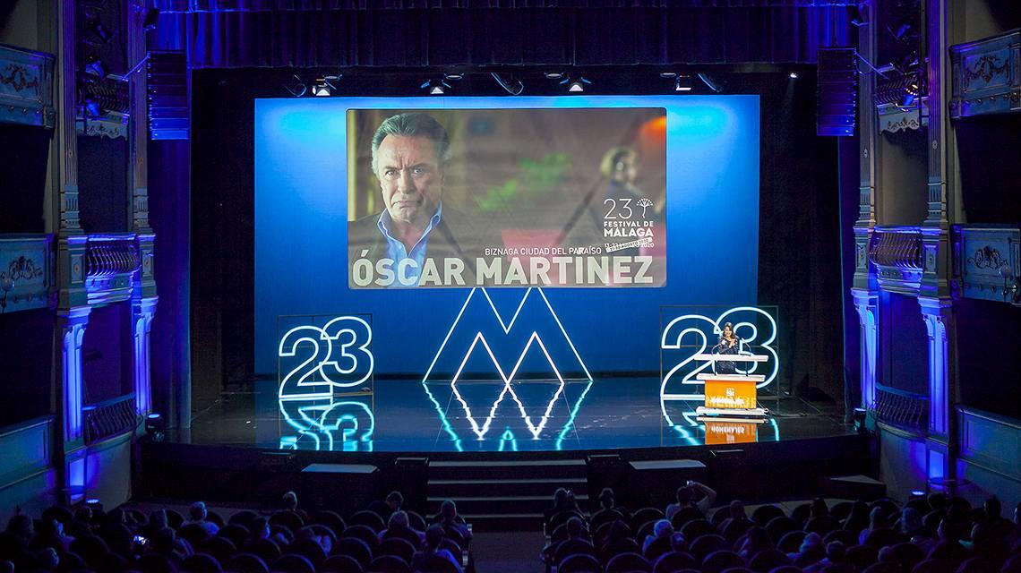Oscar Martínez, argentino de corazón malagueño